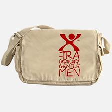 X-Traordinary Gentlemen - RED Messenger Bag