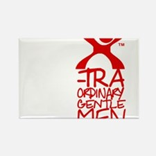 X-Traordinary Gentlemen - RED Rectangle Magnet