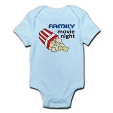 Family Movie Night Infant Bodysuit