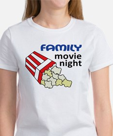 Family Movie Night Women's T-Shirt