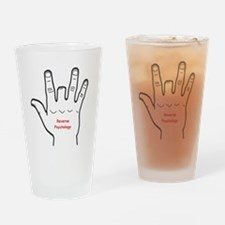 Reverse Psychology Drinking Glass