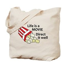 Life is a Movie Tote Bag