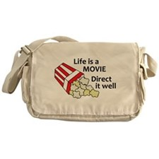 Life is a Movie Messenger Bag