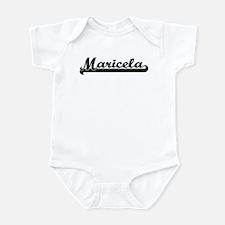 Black jersey: Maricela Infant Bodysuit