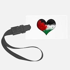 Palestine Heart Luggage Tag
