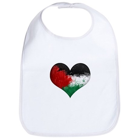 Palestine Heart Bib
