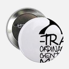 """X-Traordinary Gentlemen - BLACK 2.25"""" Button"""