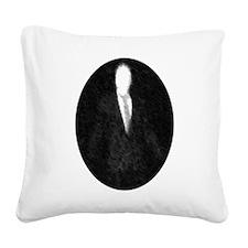 Slenderman Emblem Square Canvas Pillow