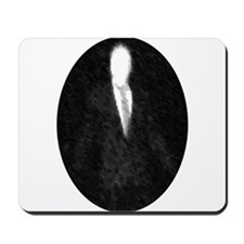 Slenderman Emblem Mousepad