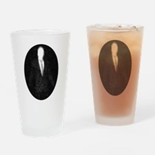 Slenderman Emblem Drinking Glass