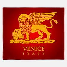 Venice Flag King Duvet