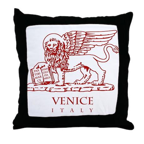 Venetian Lion Throw Pillow