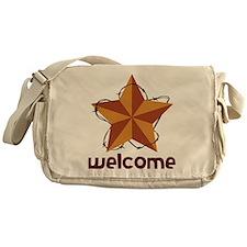 Welcome Messenger Bag