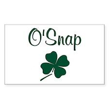 O'Snap Decal