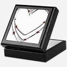 Barbed Wire Heart Keepsake Box
