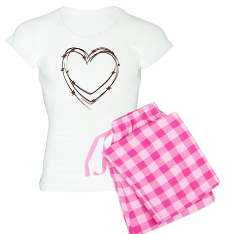 Barbed Wire Heart Women's Light Pajamas