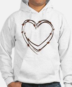 Barbed Wire Heart Hoodie