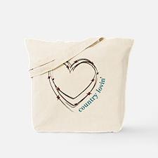 Country Lovin Tote Bag