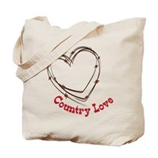 Country Love Tote Bag