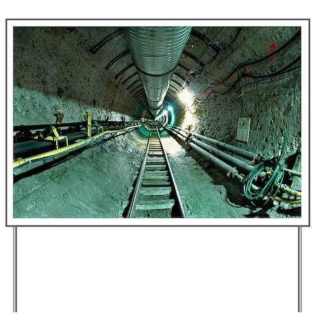 Access tunnel - Yard Sign