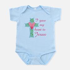 I gave my Heart to Jesus Infant Bodysuit