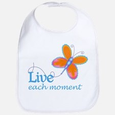 Live Each Moment Bib
