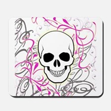 SKULL AND VINES Mousepad