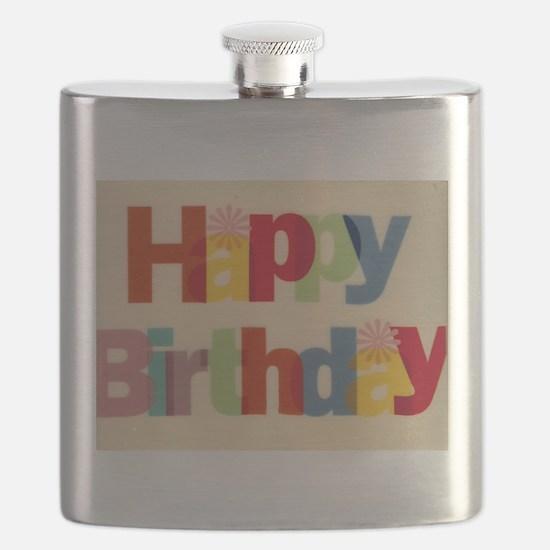 Happy Birthday Flask