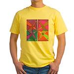 Kennedy Tartan Yellow T-Shirt