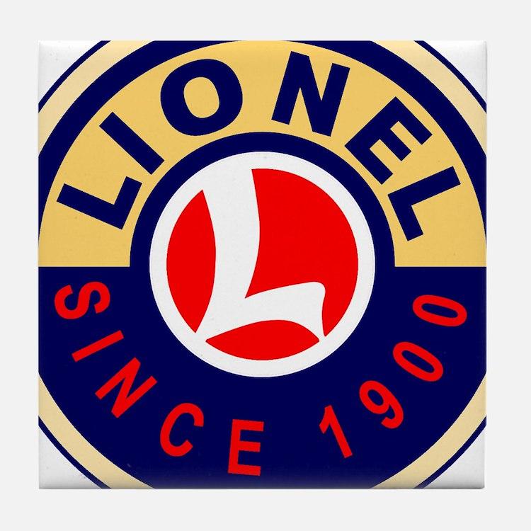 Lionel Tile Coaster