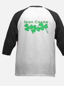 Irish Charm Dotted Shamrock Tee