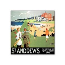 ST. ANDREW'S GOLF CLUB 2 Rectangle Sticker