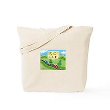 State of Meh Tote Bag