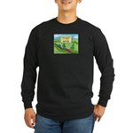 State of Meh Long Sleeve Dark T-Shirt