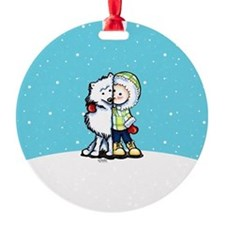 Eskimo Kisses Ornament