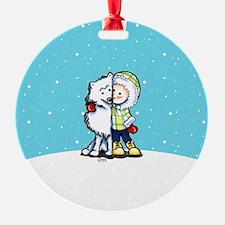 Eskimo Kisses Ornament