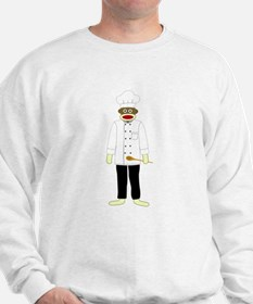 Sock Monkey Chef Sweatshirt