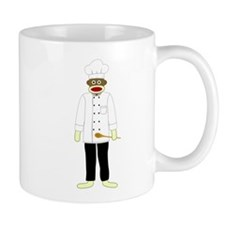 Sock Monkey Chef Coffee Mug