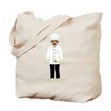 Sock Monkey Chef Tote Bag
