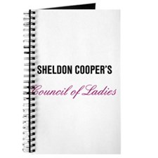 Sheldon Coopers Council of Ladies Bang Theory Jour
