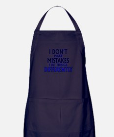 I DON'T MAKE MISTAKES..... Apron (dark)