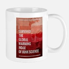 I Survived The Global Warming Hoax Mug
