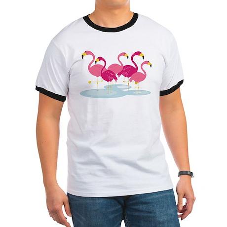 Flamingos Ringer T