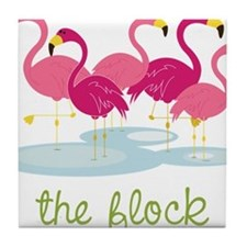 The Flock Tile Coaster