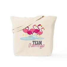 Team Flamingo Tote Bag