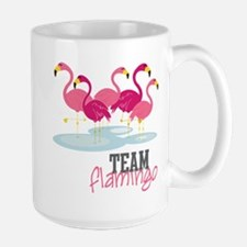 Team Flamingo Large Mug