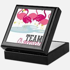 Team Flamingo Keepsake Box