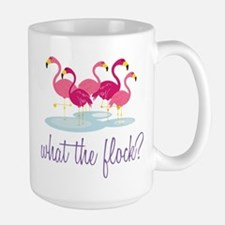 What The Flock? Large Mug
