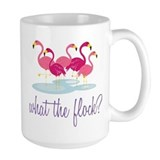 Flamingo Large Mugs (15 oz)