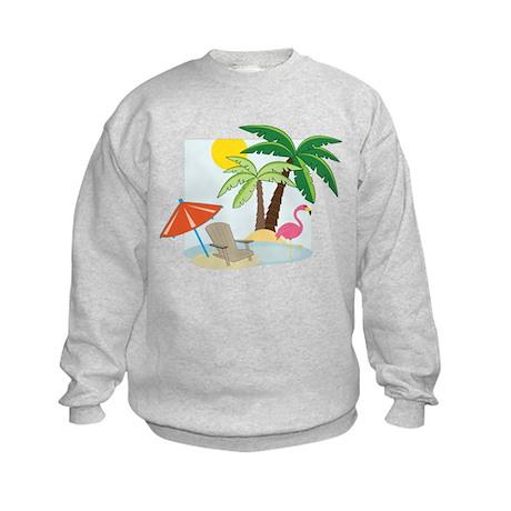 Summer Beach Kids Sweatshirt